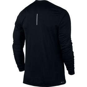 Nike Dry Miler Hardloopshirt lange mouwen Heren zwart
